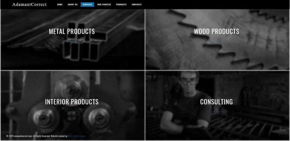 Личен уеб сайт за изработка на интериорни решения